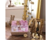 Izziwotnot - Geschenk-Set - Celebration - 7-tlg. - Rosa - 9-12 Monate