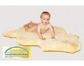 Heitmann Naturfell- Babyfell Medizin geschoren,ca 85 - 95 cm