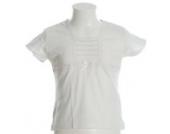 Happy Girls T-Shirt Bluse Wollweiß 92