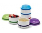 Dr. Brown's Designed To Nourish Snack-A-Pillar Dipping Cups - Snackbecher mit Deckel aus USA