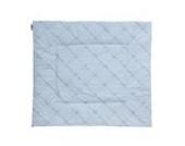 Nicolientje 700363 Laufgittereinlage, 90 x 100 cm, blue