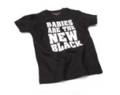 Babies Are the new – Schwarz (Black) Baby Tee Shirt, 12 – 18 Monate