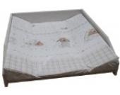 Wickelauflage Mulde Motiv, passend für Trend-Welt Wickeltischaufsatz 60 x 70 cm