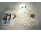 A-Safety Kinder-Sicherheitsset (23-tlg.), Erstausstattung Haushalt, 6 x Sicherheitsriegel, 4 x Eckenschutz, 1 x Kühlschrankriegel, 1 x Schrankschloss, 10 x Steckdosenschutz, drehbar, 1 x Klemmschutz