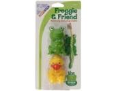 Mommy's Helper MOH-22292 Froggie Zahnbürstenhalter-Set, Frosch und Ente