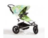 Sonnenschutz Sonnendach Sonnensegel Sonnenverdeck Sonnette® single UPF 80+ für Kinderwagen Talluah green