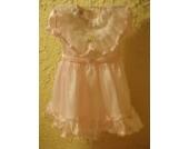 Traumhaft schönes Baby - / Kleinkinder Festkleid Minigirl Größe 3 für Kommunion ,Konfirmation oder Hochzeit