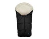 Altabebe AL2006C - 14 Winterfußsack für Babyschale, Klimaguard linie, schwarz/whitewash