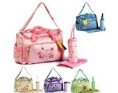 3 tlg Baby Farbwahl Wickeltasche Pflegetasche Windeltasche Babytasche Reise Farbauswahl