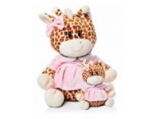 Kuscheltier Giraffe XL 60cm waschbar für Baby ab 0 Monaten // Plüschtier Stofftier Geschenk Geburt Taufe Babyparty Mädchen rosa