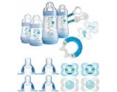MAM Set 2 - Startset - Flaschen Sauger Schnuller 24 tlg. - Blau
