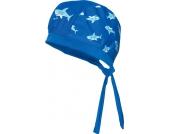 Playshoes UV-Schutz Kopftuch Hai, blau